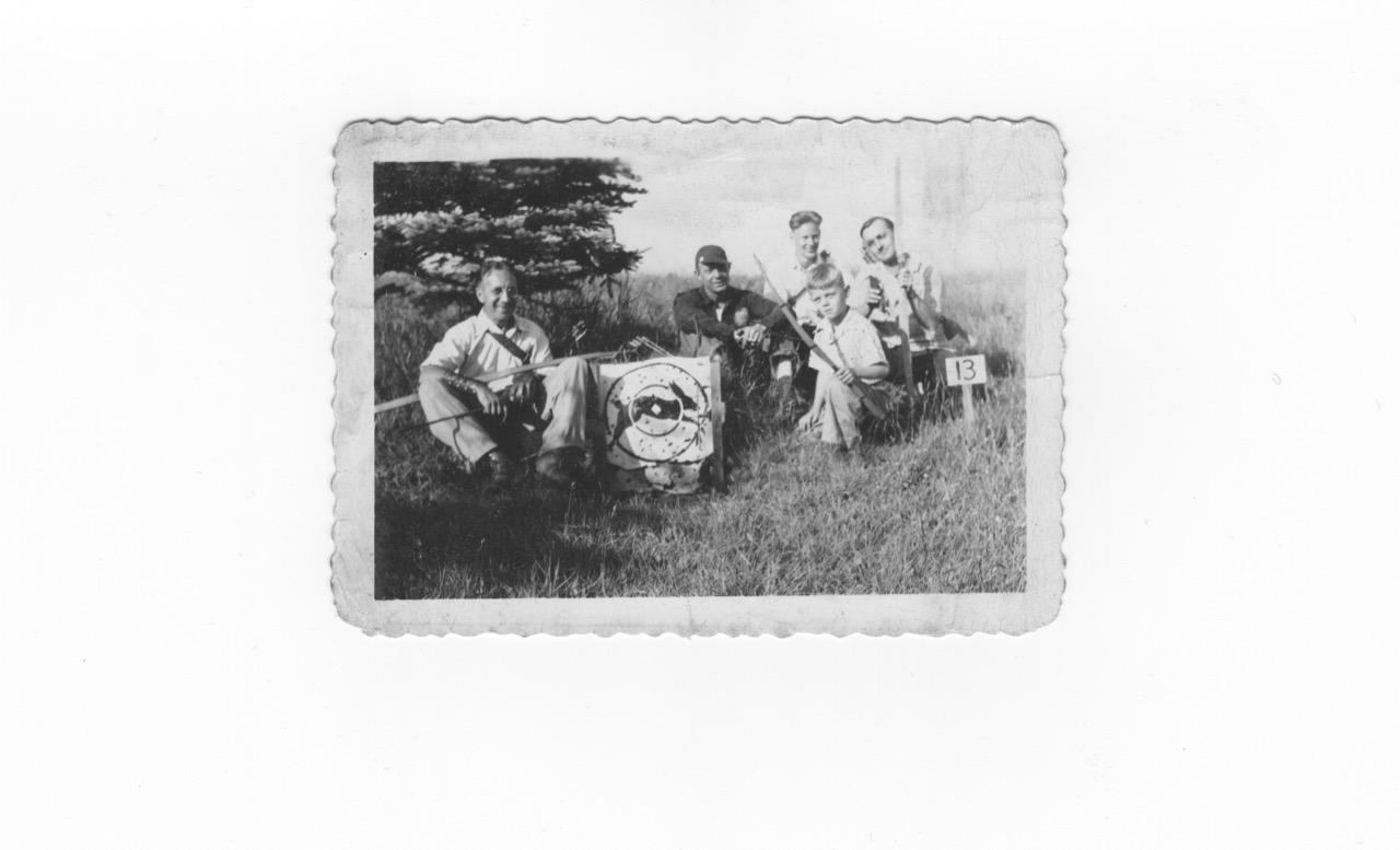 DAC members on roving course, 1944